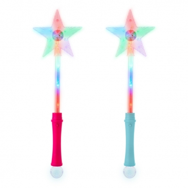 Ultra Single and Multi Packs of Light Up Wand Star Light Flashing Wand Fairy Light Princess Toys Premium Magic Wand Kids Light Up Star Wand Ideal Party Favours Princess Parties Toy Wand with Disco Ball Light Up Wand
