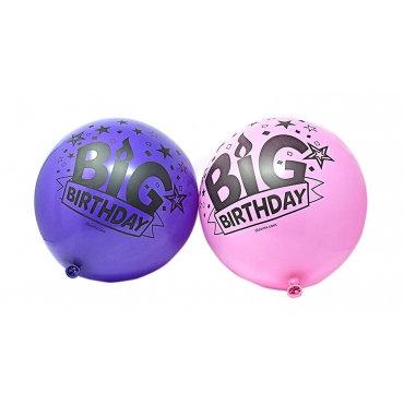 "Supersize Balloons Pink and Purple Packs of 4 to 50 Big Birthday 24"" Illoom Light Up LED Balloons As Seen on Dragons Den Light Up Balloons Party Decor Luminous Balloons"