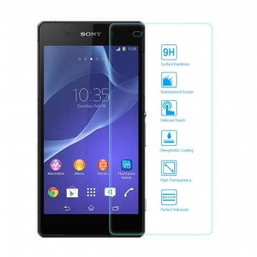 Ultra® Premium Sony Xperia Z2 0.3ml Tempered Glass Mobile Screen protector phone Screen Protector Oleophobic 9H