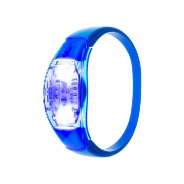 Ultra Blue LED Sound Activated Bracelet Light Up Flashing Bracelets Adult Children