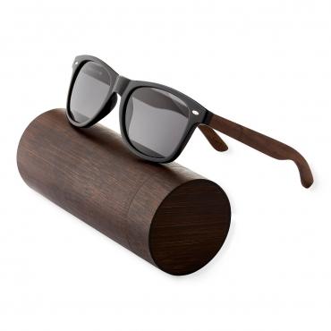 Ultra Walnut Wood Framed Glases with Smoked Lenses Sunglasses Polorised Eyewear Wooden Sunglasses UV400 Mens Womens-Walnut Arms with Smoked Lenses