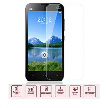 Ultra® Mi2 9h Hardness Premium Tempered Glass Screen Protector 0.4ml Screen Protector Explosion proof for Xiaomi Mi2 M2