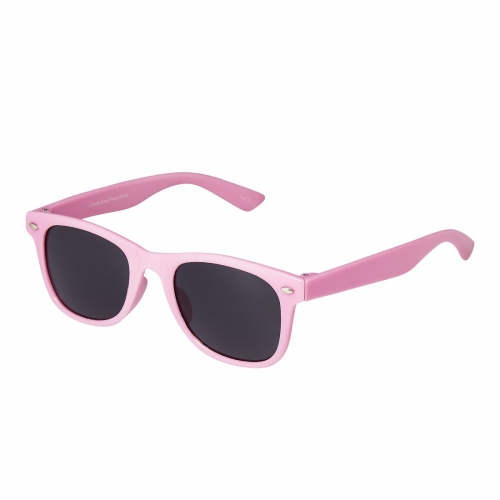 Ultra Pink Kids Sunglasses Rubber Flexible Childrens Sunglasses UV400 UV Protection UVA UVB Boys Sunglasses Girls Sunglasses for Kids Retro Classic Sun Glasses Unbreakable Glasses