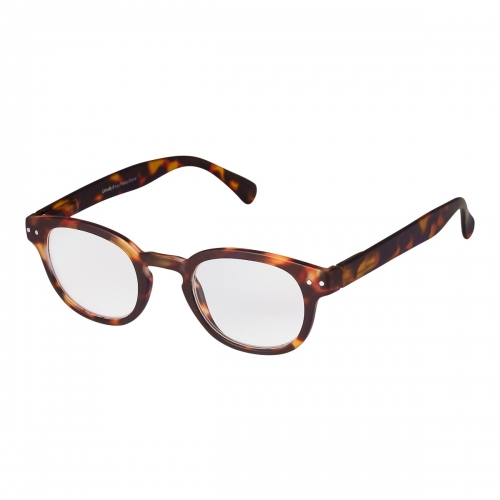 Brown Tortoise Shell Horn Rimmed Adults Reading Glasses Mens Womens Non Prescription Eyewear 1.5 to 3.5 Dioptre