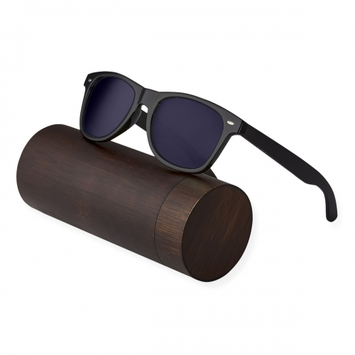 Ultra Ebony Wood Arms with Smoked Lenses Sunglasses Polorised Eyewear Wooden Sunglasses UV400 Mens Womens-Ebony Wood Arms with Smoked Lenses