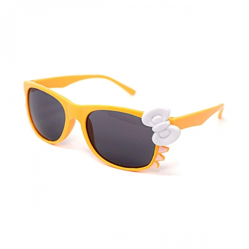 Ultra Orange Childrens Bow Style Multi Colour Dark Lens Classic Frames Costume Glasses Kids Nerds Geek World Book Day Cosplay Fancy Dress Unisex